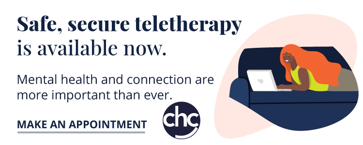 Teletherapy available now with Children's Health Council