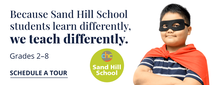 Sand Hill School teaches differently. Schedule a tour.